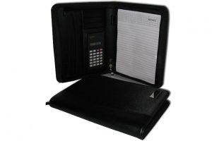 FD1081 A5 Folder with Zip, Calculator and Momo Pad