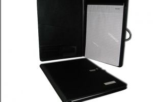 FD5851 A4 Folder (Fabric) with Memo Pad