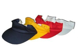 HC121 Sun Visor w/Rubber Closure