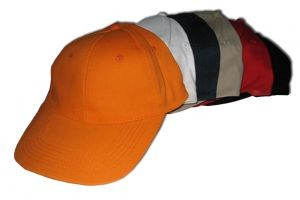 HC610 6 Panels Heavy Brushed Cotton cap w/Brass Buckle