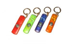 KL16 Whistle Keychain w/Compass & Led