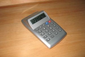P904 Desk Top Calculator