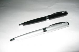 S5008 Metal Ball Pen with LED Light & Laser