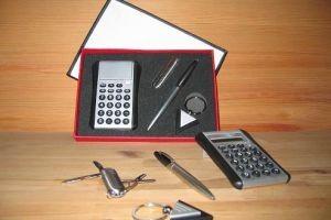 TK65 Multi Function Knife, Ball Pen, Calcu & Keychain
