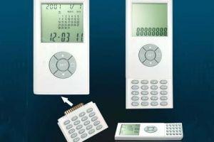 YT6027 World Time Clock, Calendar w/Detachable Calculator