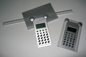 YT6040 Calculator with Ruler