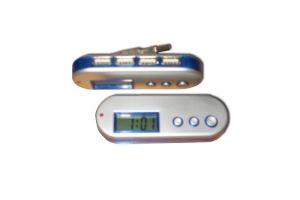 YTJ519 USB Hub (4 Port) with LCD Alarm Clock
