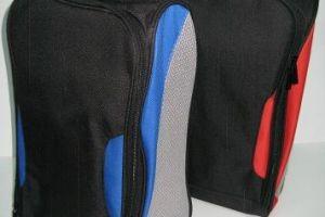 CB08 St Lavin Double Shoe Bag 600D/PVC + Mesh