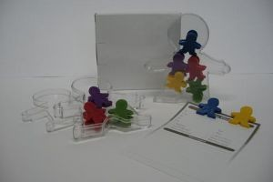 CL18 5Pcs Boys Paper Clip Set