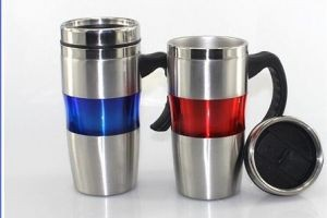 C993 Stainless Steel Mug w/Handle